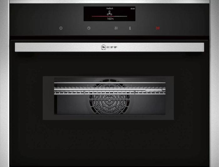 Встраиваемый компактный духовой шкаф с микроволнами Neff C28MT23H0