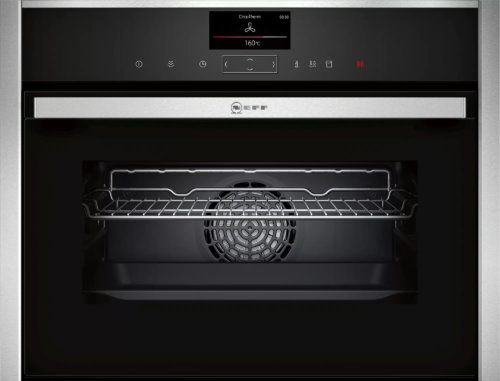 Компактный встраиваемый духовой шкаф-пароварка Neff C17FS42H0