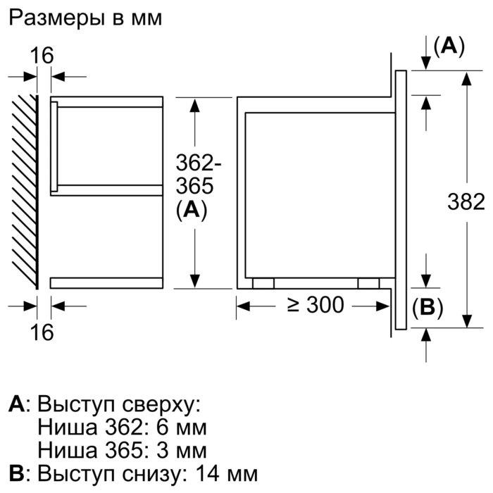 Встраиваемая микроволновая печь Neff C17WR00N0