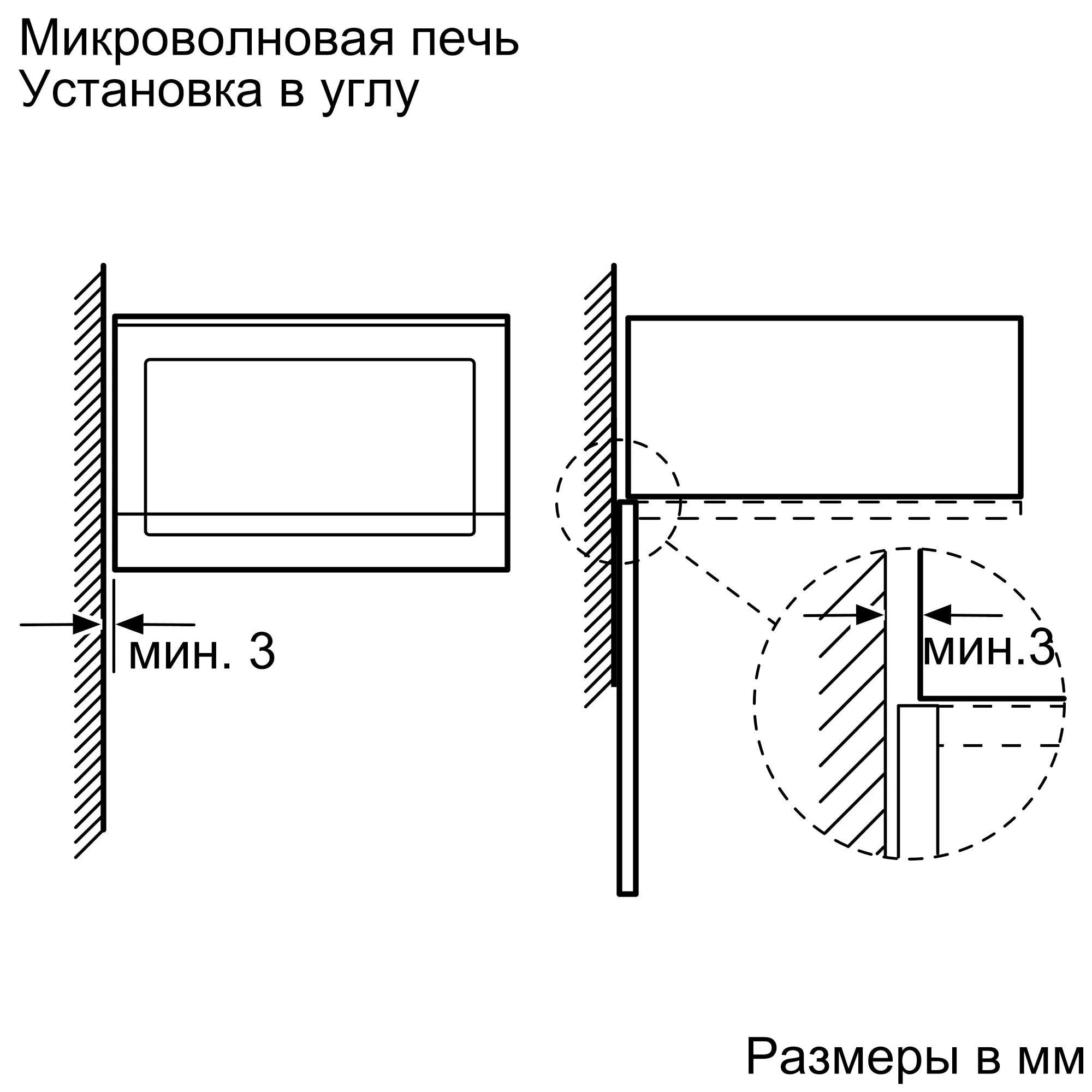 Встраиваемая микроволновая печь Neff HLAWD53W0