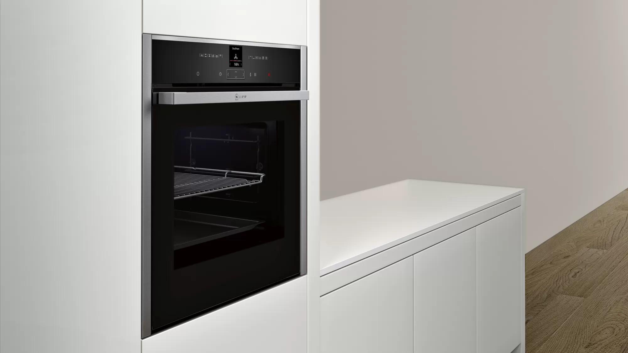 Встраиваемый электрический духовой шкаф Neff B27CR22N1
