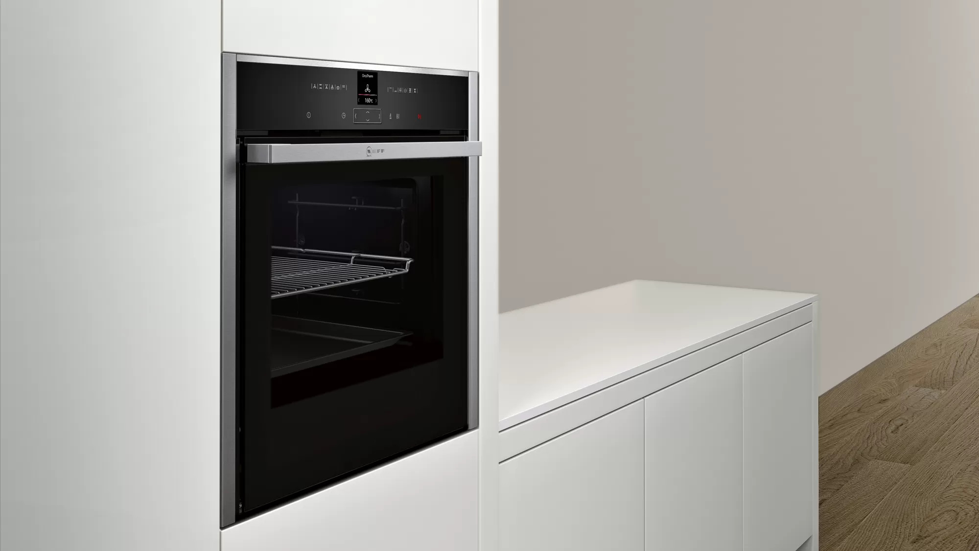 Встраиваемый духовой шкаф Neff B57CR22N0