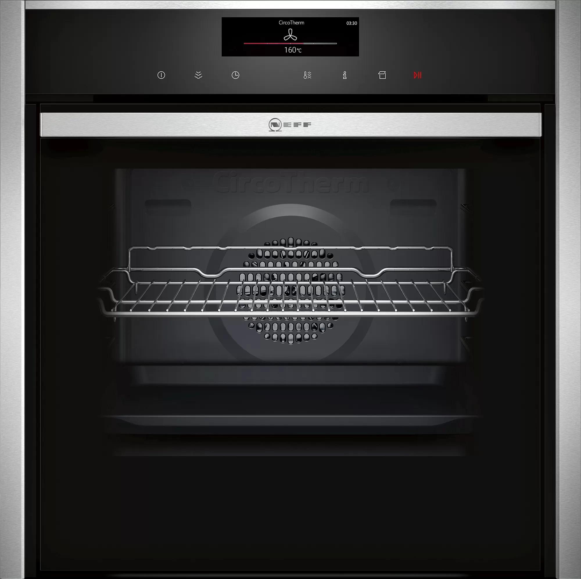Встраиваемый духовой шкаф с функцией добавления пара Neff B58VT68H0