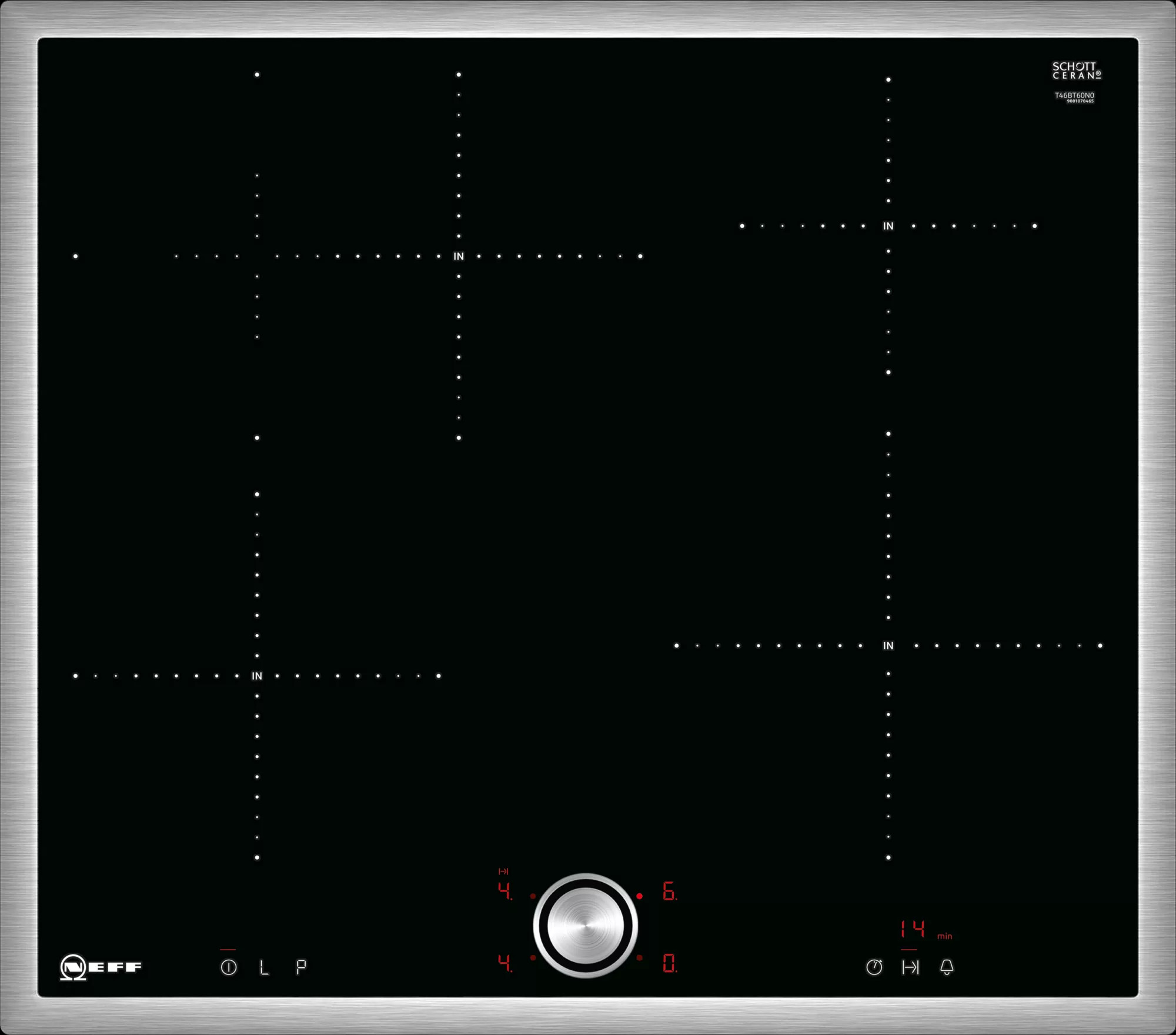 Индукционная варочная панель Neff T46BT60N0