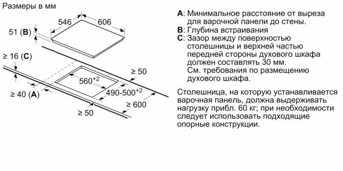 Индукционная варочная панель Neff T66TS6RN0