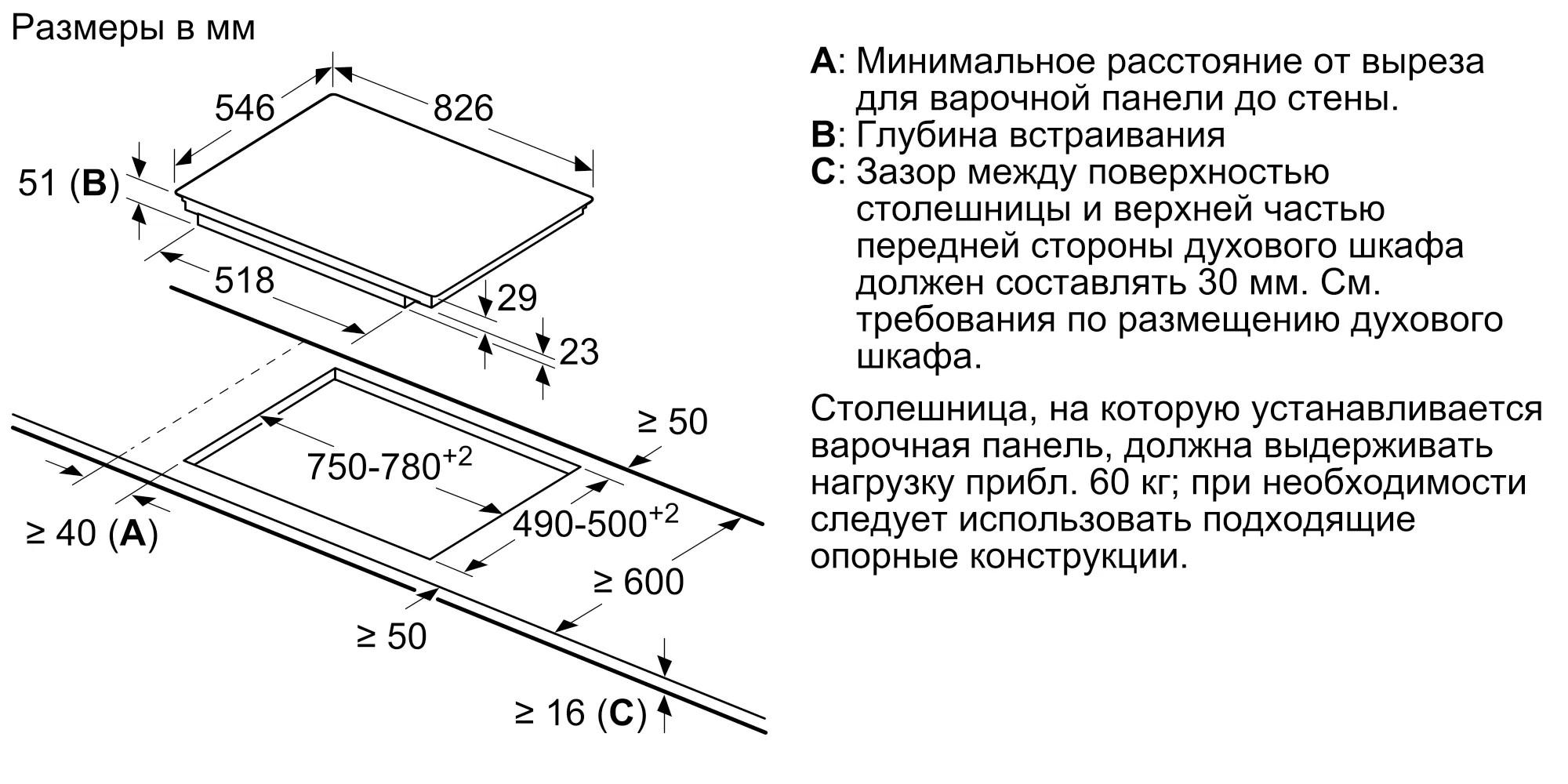 Индукционная варочная панель Neff T68TL6UN2