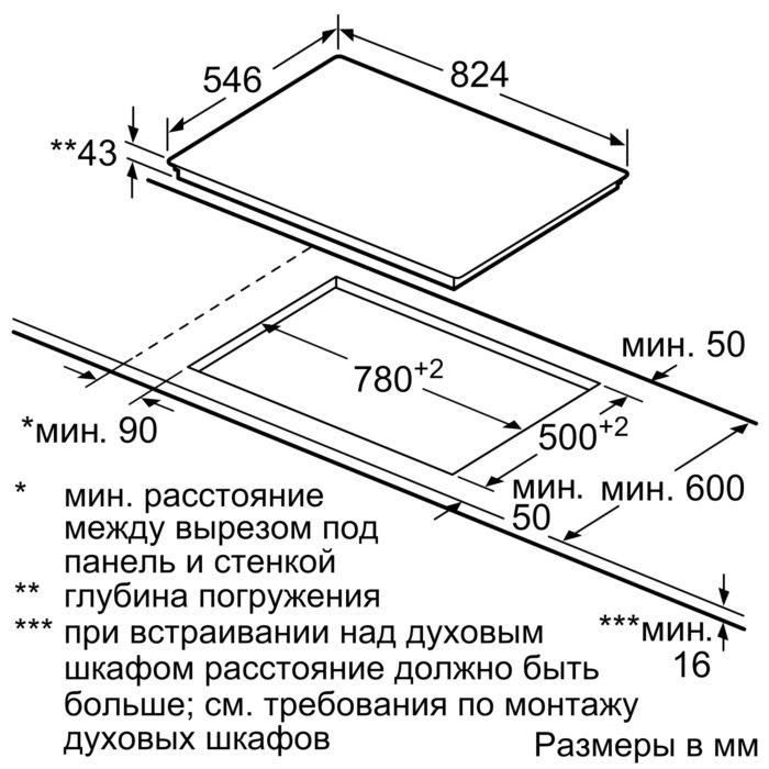 Электрическая варочная панель Neff T18TS28N0