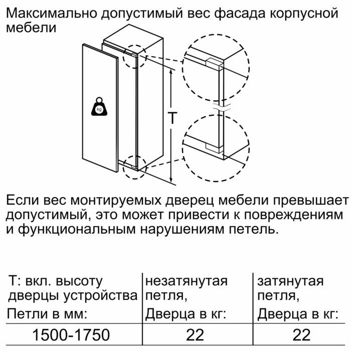 Встраиваемый холодильник Neff KI1813F30R